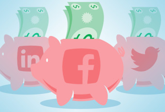 minimizar costos social media