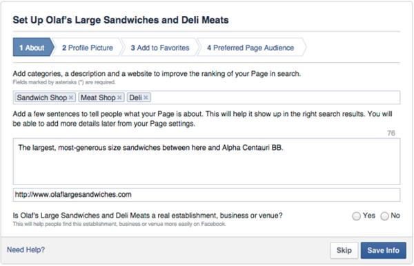 10 Pasos para crear una página de negocios en facebook 2