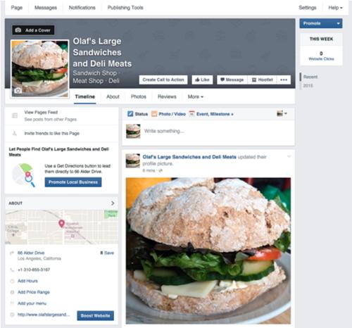 10 Pasos para crear una página de negocios en facebook 3
